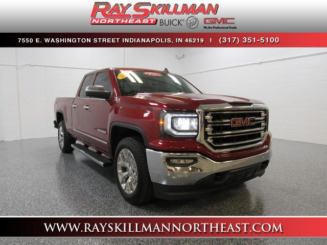 Pre-Owned 2018 GMC Sierra 1500 4WD Double Cab 143.5 SLT